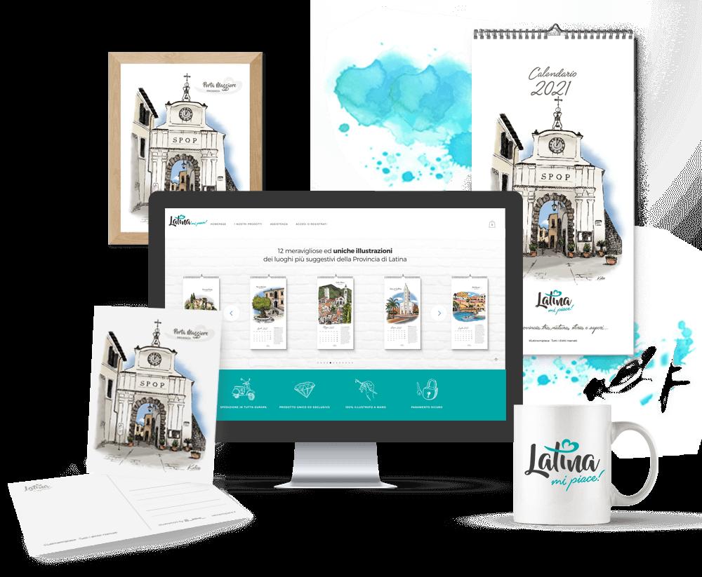 Shop-Latinamipiace-Calendario-Cartoline-Litografie-2021