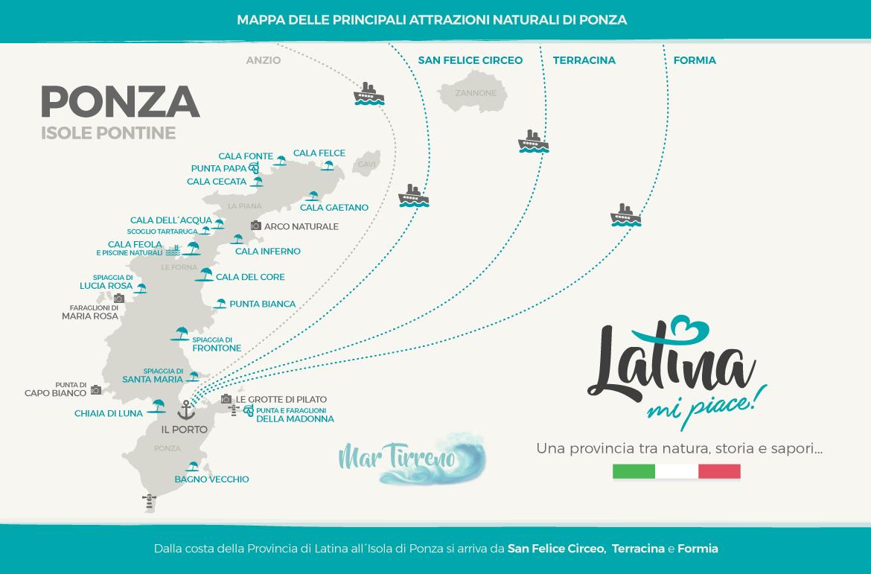 mappa-isola-ponza-latinamipiace