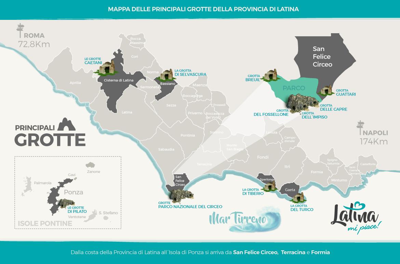 mappa-grotte-provincia-latina-latinamipiace