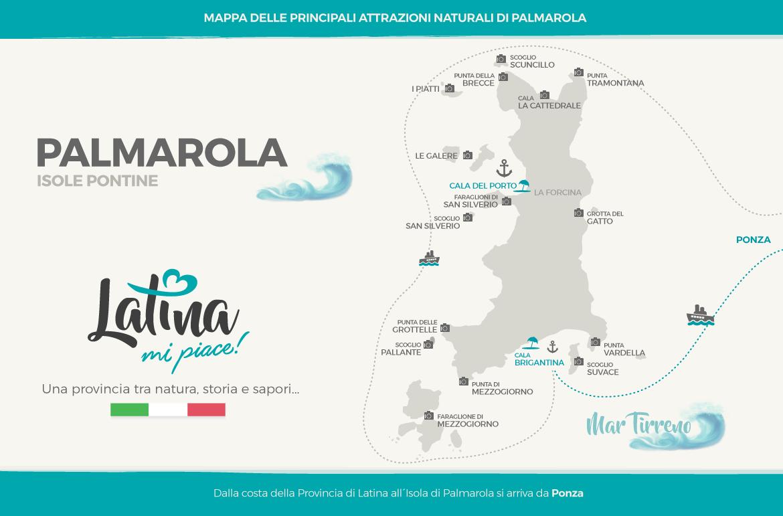 mappa-isola-palmarola-latinamipiace