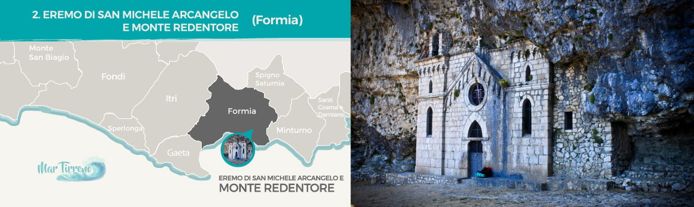 mapa-trekking-eremo-di-san-michele-arcangelo-e-monte-redentore-formia-latinamipiace