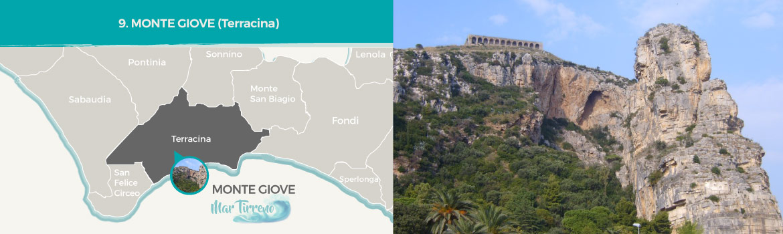 mapa-trekking-monte-giove-anxur-terracina-latinamipiace