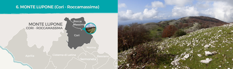 mapa-trekking-monte-lupone-cori-roccamassima-latinamipiace