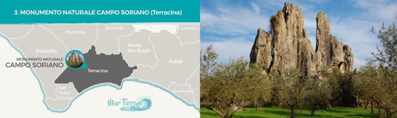 mapa-trekking-monumento-naturale-campo-soriano-terracina-latinamipiace