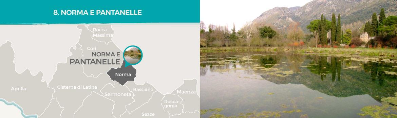 mapa-trekking-norma-e-pantanelle-latinamipiace