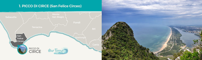 mapa-trekking-picco-di-circe-san-felice-circeo-latinamipiace