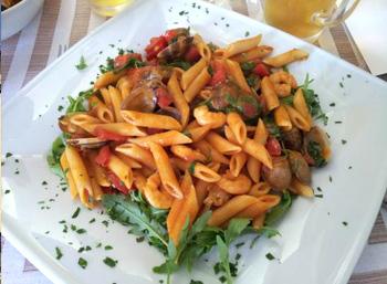 penne-allo-zafferano-e-frutti-di-mare-gastronomia-san-felice-circeo-latinamipiace