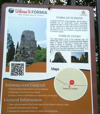 Tomba-di-Cicerone-Formia-Informazioni-generali-latinamipiace