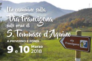 Un cammino sulla Via Francigena sulle orme di S. Tommaso D'Aquino a Priverno e Fondi