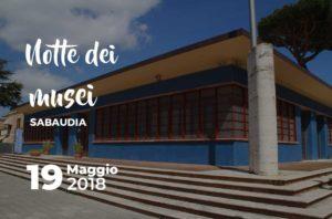 Notte dei musei a Sabaudia @ Sabaudia | Sabaudia | Lazio | Italia
