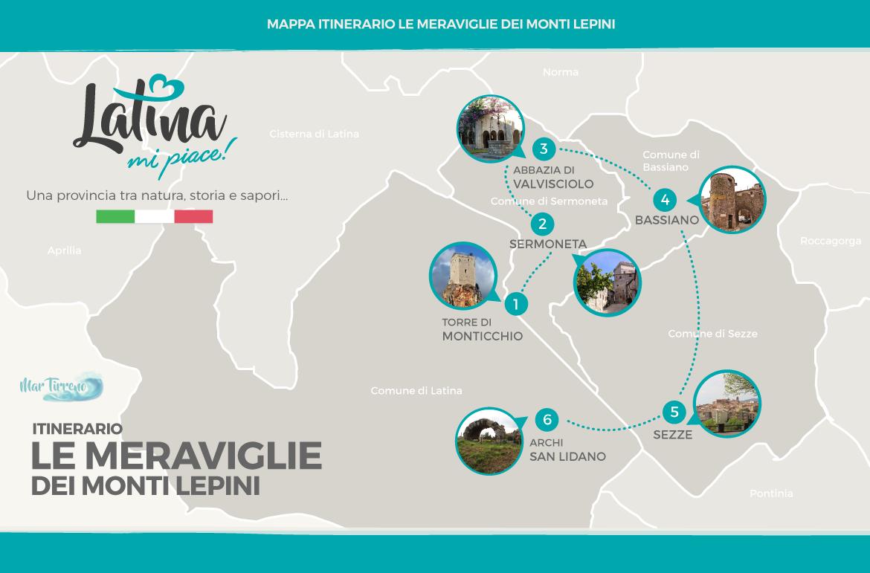 mappa-itinerario-le-meraviglie-monti-lepini-latinamipiace