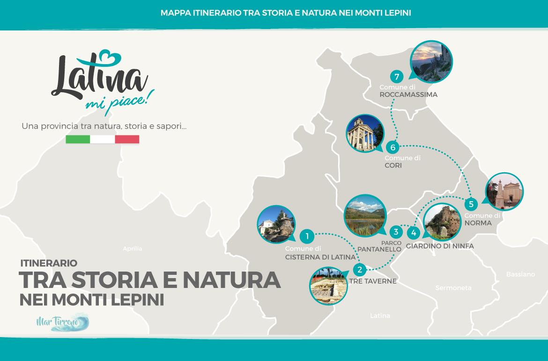 mappa-itinerario-tra-storie-e-natura-monti-lepini-latinamipiace