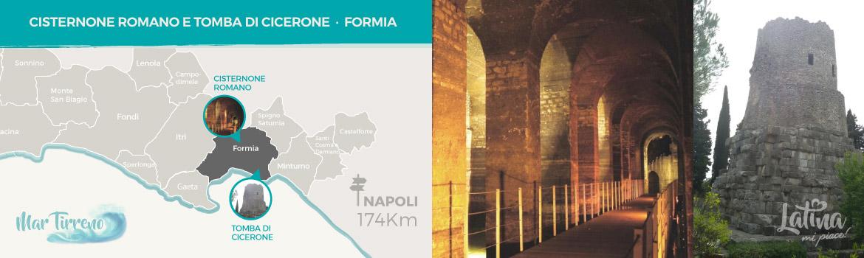 mappa-resti-archeologici-romani-Cisternone-Romano-e-Tomba-di-Cicerone-a-Formia-latinamipiace
