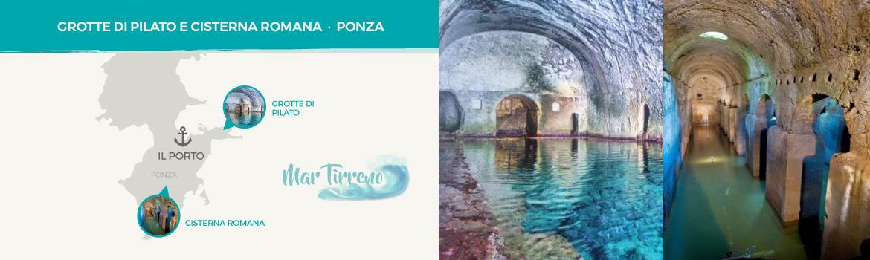 mappa-resti-archeologici-romani-Grotte-di-Pilato-e-Cisterna-Romana-a-Ponza-latinamipiace