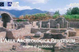 Area archeologica Privernum apre al pubblico @ Priverno | Lazio | Italia