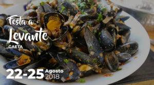 Festa a levante sagra della cozza e pesce azzurro a Gaeta @ Gaeta | Gaeta | Lazio | Italia