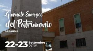 Giornate Europee del patrimonio a Sabaudia @ Sabaudia