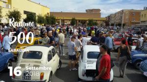 Raduno 500 a Sabaudia @ Sabaudia