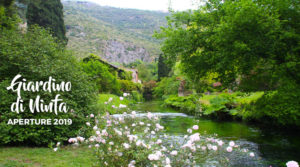 Giardino di Ninfa Aperture 2019 @ Giardino di ninfa   Cisterna di Latina   Lazio   Italia