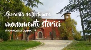 Giornate dimore e monumenti storici aperti @ Provincia di Latina