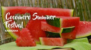 Cocomero Summer Festival Sabaudia