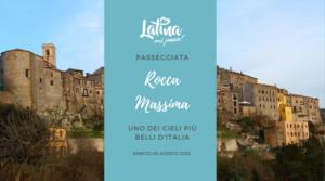 Passeggiata Latinamipiace a Rocca Massima