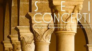 Sei concerti: la grande musica al Complesso Monumentale di Sant'Oliva @ Cori | Cori | Lazio | Italia