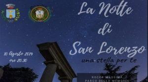 La notte di San Lorenzo a Rocca Massima