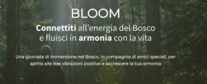 Bloom connettiti all'energia del Bosco @ Parco dei Castelli Romani